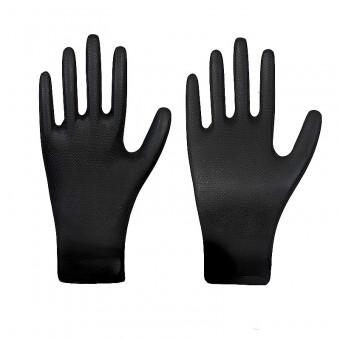 Nitril-Einmalschutzhandschuh • GRIPSTER • schwarz • Stärke 0,15 mm • Box à 50 Stück
