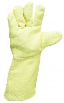 Kevlar Para-Aramid Handschuh • 5-Finger - Gewebe • 30 cm