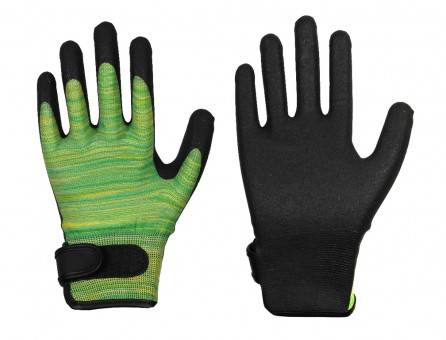 HPT-Schaum-Handschuh • Feinstrick-Handschuh • Klettverschluss