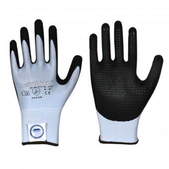 Dyneema® Diamond • Nitril-Noppen • Schnittschutz-Handschuh • Stufe B