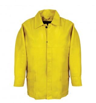 PU-Winterbau-Jacke Farbe: Gelb