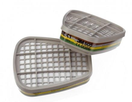 6059 ABEK1 Filter gegen organische anorganische und saure Gase und Dämpfe sowie Ammoniak