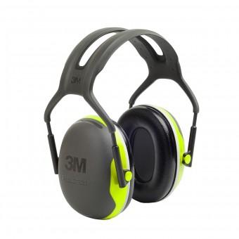 X4A X4 Kopfbügel, (SNR = 35 dB) sehr hoher Dämmwert und schmaler Kapselaufbau