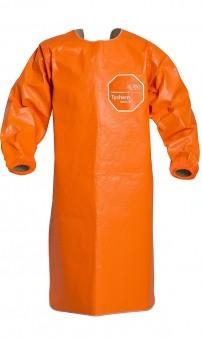 DuPont™ Tychem® 6000 FR ThermoPro Schürze • Orange • Gr. 3XL • CAT III • Type PB [3-B]